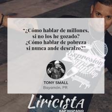 Tony Small - Quote