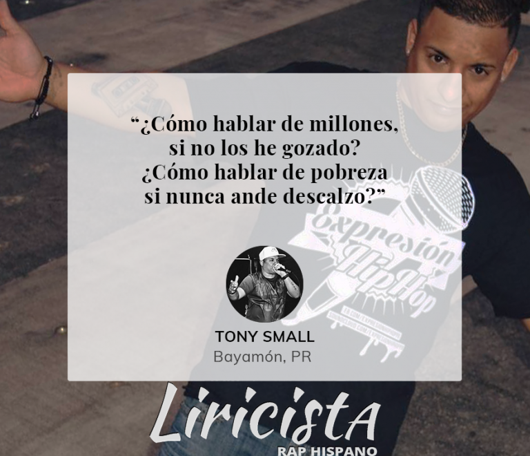 Tony Small – Quote