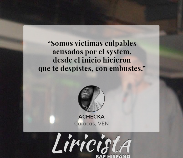 Achecka – Quote