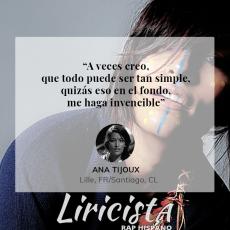 Ana Tijoux - Quote