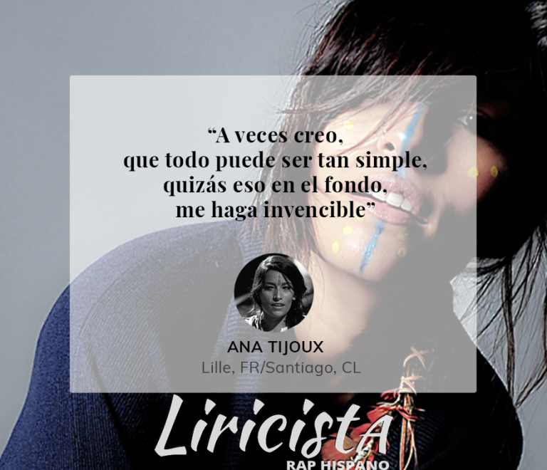 Ana Tijoux - Quote