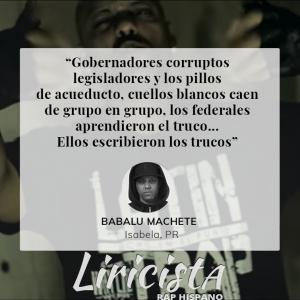 Babalu Machete - Quote