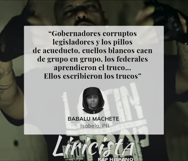 Babalu Machete - Quote