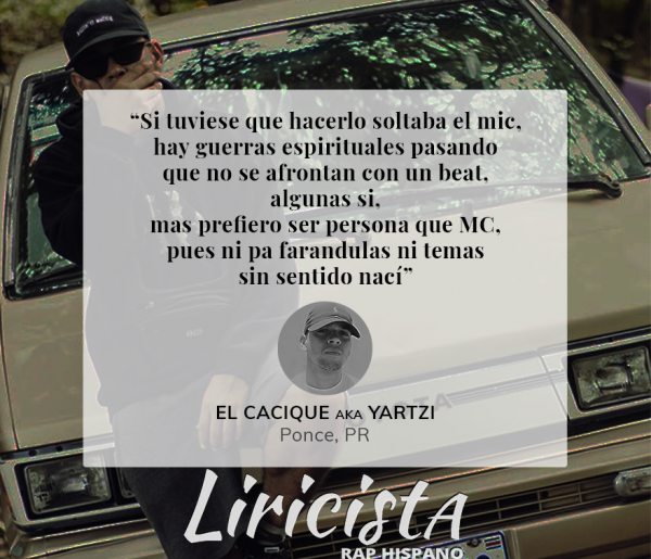Gio El Cacique - Quote