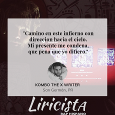 Kombo the X Writer - Quote
