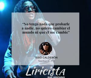 Tego Calderón - Quote