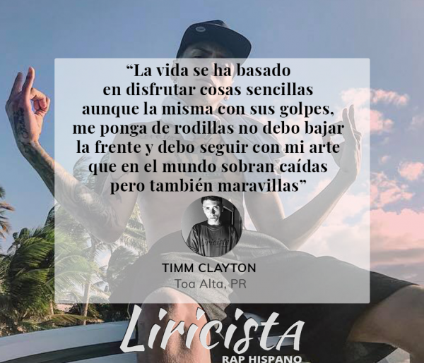 Timm Clayton - Quote