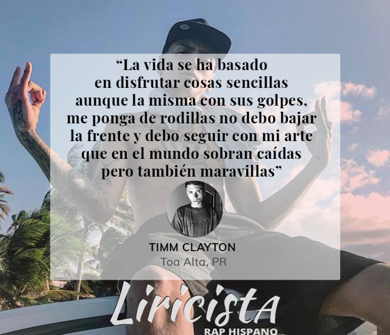 Timm Clayton – Quote