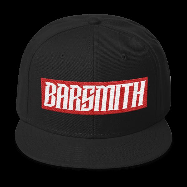 Wrightskillz Barsmith – Gorra – Rojo/Negro