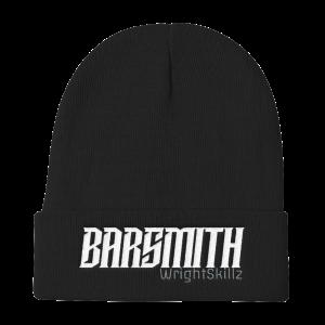 Wrightskillz Barsmith – Beanie – Negro/Blanco