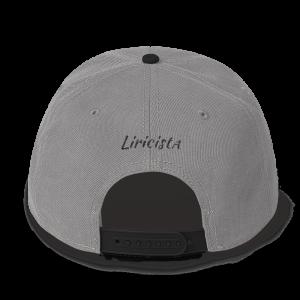 Liricista Classic – Gorra – Gris/Negra, Blanca/Negra