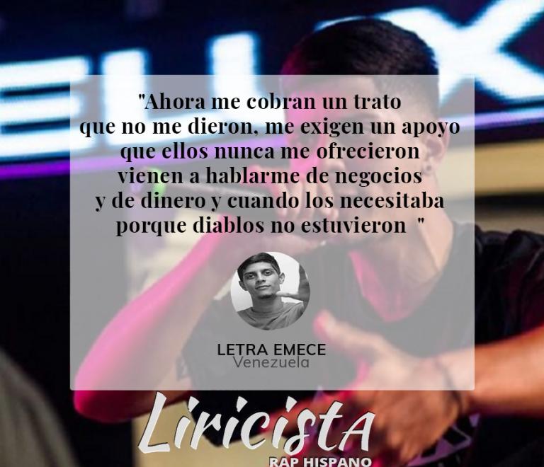 Letra Emece - Quote
