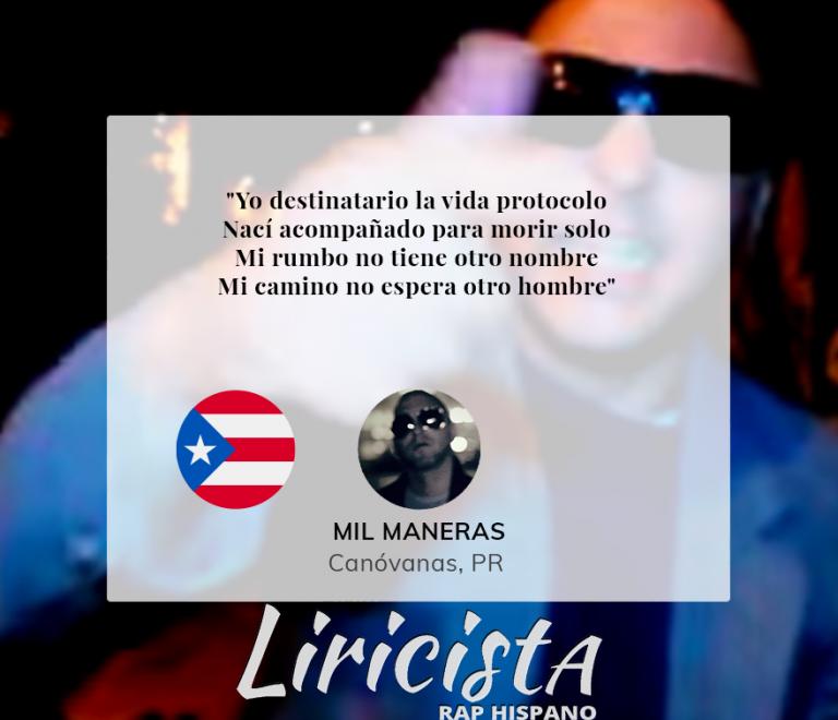 Mil Maneras – Quote
