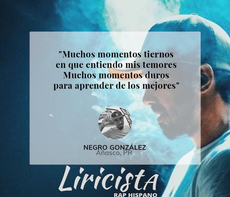 Negro Gonzalez - Quote